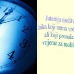 Jutarnja molitva laika koji nema vremena - pps