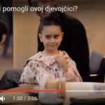 Biste li pomogli ovoj djevojčici? - video uradak