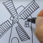 Kako nacrtati mlin? - dani kruha
