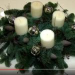 Kako izraditi adventski vijenac - video upute