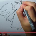 Kako nacrtati anđela - video upute