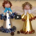 Kako izraditi božićnog anđela - video upute