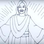 Kako nacrtati Isusa