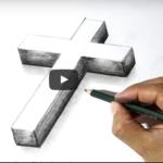 Kako nacrtati križ - video upute