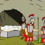Isusovo uskrsnuće - flip-card vjeronauk za najmlađe
