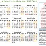 ŠKOLSKI KALENDAR 2020./2021.