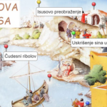 Isusova čudesa - interaktivna karta on-line
