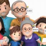 Obitelj - interaktivne igre za vjeronauk u prvom razredu ili vrtiću