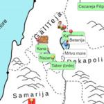 Palestina Isusova vremena - interaktivna karta
