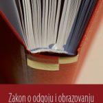 Zakon o odgoju i obrazovanju u osnovnoj i srednjoj školi