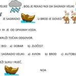 Noa - radni list za vjeronauk (učenici s poteškoćama)