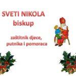 Vjeronauk – sveti Nikola biskup pps