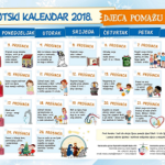 Adventski kalendar - advent 2018.