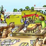 Jeruzalem Isusova vremena - on-line igra za vjeronauk