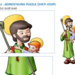Sveti Josip - puzzle za vjeronauk