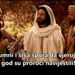 Isus se ukazao učenicima na putu u Emaus - video zapis
