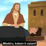 Isus je oživio sina udovice iz Naina - ulomak animiranog filma