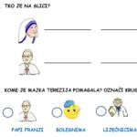 Majka Terezija - radni list za učenike s poteškoćama