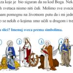 Svi sveti - radni list za četvrti razred