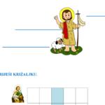 Svi sveti – radni list za učenike s poteškoćama (4. razred)