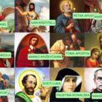 Sveci Katoličke crkve - interaktivna vježba o svecima