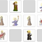 Sveci Katoličke crkve – učenje kroz igru memory 2