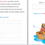 Sveti Andrija apostol - radni list