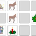 Božić - interaktivni memory