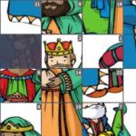 Mudraci s istoka - klizna puzzla
