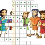Isusovi apostoli - on-line vježba za drugi razred