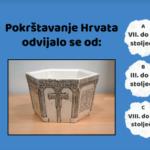 Pokrštenje Hrvata - interaktivne vježbe
