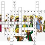 Isusovi apostoli - slikovna križaljka s imenima apostola