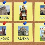 Hrvatske katedrale - interaktivni memory