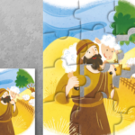 Dobri pastir - puzzle