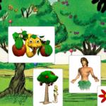 Zemaljski raj - nekoliko digitalnih vježbi za vjeronauk u prvom razredu