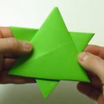 Davidova zvijezda - origami, video upute