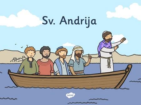 SVETI ANDRIJA APOSTOL