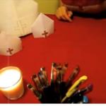 Kapa svetog Nikole - origami - video zapis